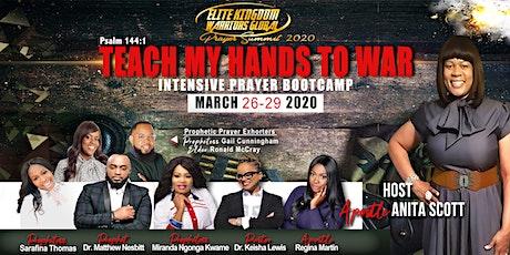Elite Kingdom Warriors Global Prayer Summit Intensive Prayer Bootcamp tickets