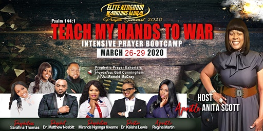 Elite Kingdom Warriors Global Prayer Summit Intensive Prayer Bootcamp