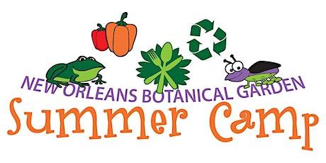 New Orleans Botanical Garden Summer Camp-Budding Naturalist tickets