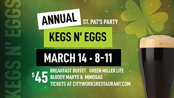 Kegs and Eggs at City Works Pittsburgh