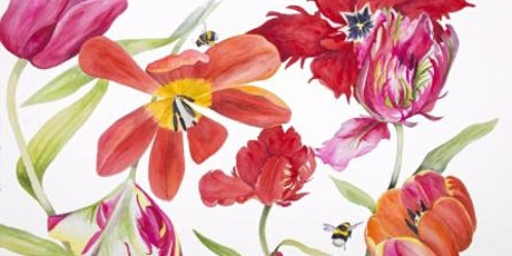 'Watercolour Painting At The Flower Farm' with Mary-Clare Cornwallis tickets