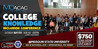 "MoACAC ""College Knowledge"" Inclusion Conference"