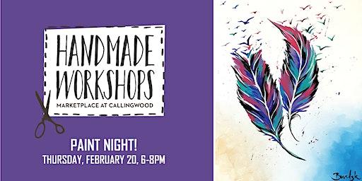 Callingwood Paint Night - February 2020
