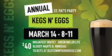 Kegs and Eggs at Old Town Pour House tickets