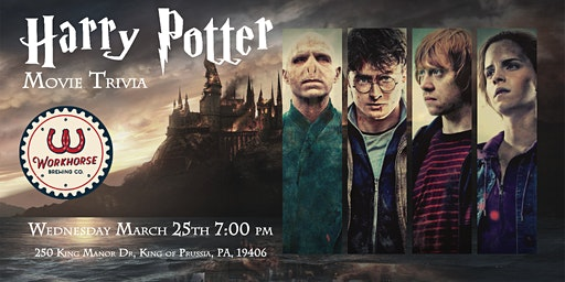 Harry Potter Movies Trivia at Workhorse King of Prussia