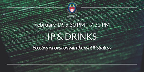 IP & Drinks – Boosting innovation with the right IP strategy tickets