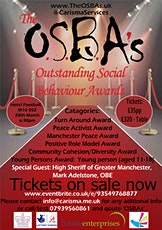 The OSBAs (Outstanding Social Behaviour Awards) tickets