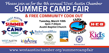 West Austin Summer Camp Fair tickets