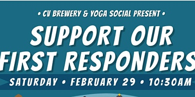 Yoga Social; Support our First Responders