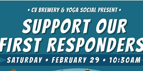 Yoga Social; Support our First Responders tickets