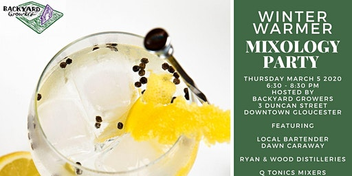 Winter Warmer Mixology Party