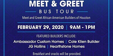 HBREA African American Builders Bus Tour tickets