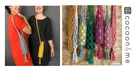 Macramé Water Bottle Bag Workshop - Hove tickets