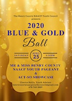 Henry County NAACP Youth Council 2nd Annual Blue & Gold Ball
