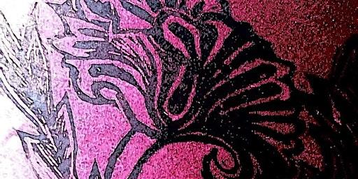 Handprinted  Lampshades