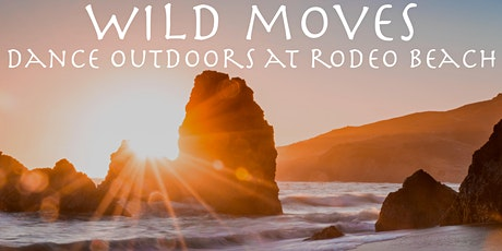 Wild Moves- Outdoor Dance/Mindful Movement on Rodeo Beach -via silent disco tickets