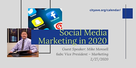 Social Media Marketing in 2020 tickets