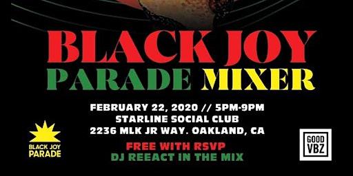 Black Joy Parade Mixer - Free with RSVP