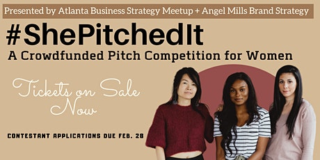 #ShePitchedIt: A Crowdfunded Pitch Competition for Women tickets
