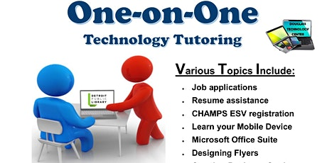 Tech Tutoring - BY APPOINTMENT ONLY - Call to schedule tickets