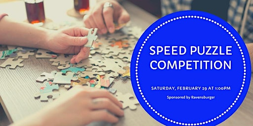 Jigsaw Puzzle Speed Competition