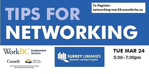Tips for Networking Workshop