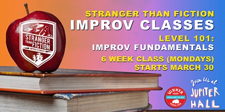 Improv 101: Improv Fundamentals (Manchester) with Stranger Than Fiction tickets