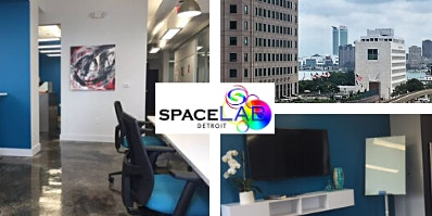 SpaceLab Detroit Downtown Shared Office and Coworking Space Tour