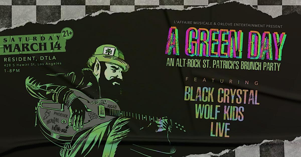 A Green Day: An Alt-Rock St. Patrick's Brunch Party