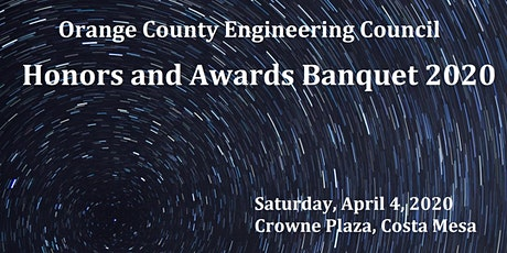 EVENT WILL NOT HAPPEN ON 4/4/2020 ... OCEC Honors and Awards Banquet 2020 tickets