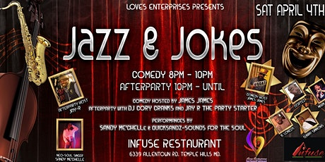 Jazz & Jokes tickets