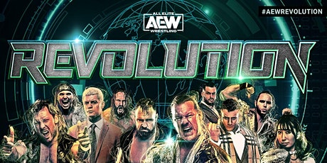 "AEW ""Revolution"" Viewing Party at Mac's Wood Grilled tickets"