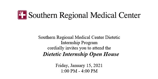 Southern Regional Medical Center Dietetic Internship Open House