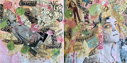 Art Journaling With DeAnne Olguin Williamson - March 8, 2020