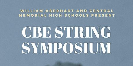 CBE String Symposium tickets