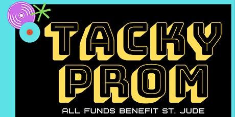 Tacky Prom tickets
