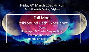 FULL MOON REIKI SOUND BATH - BRIGHTON