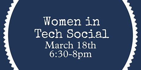 Women in Tech Social tickets