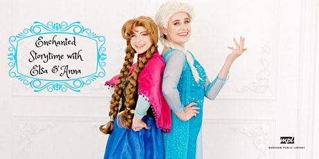 Enchanted Storytime with Elsa and Anna tickets