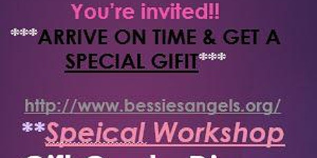 It's All About You - Workshop tickets