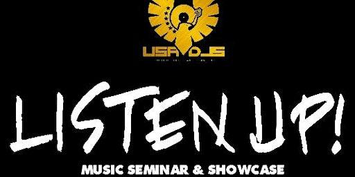 USA DJS PRESENT: LISTENUP! 2020 DJ REGISTRATION