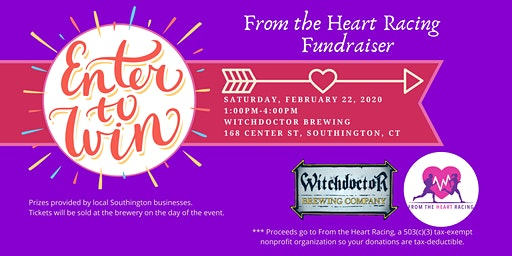 From the Heart Racing Fundraiser at Witchdoctor Brewing