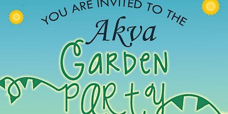Garden Party at Akva tickets
