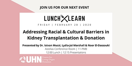 Addressing Racial & Cultural Barriers in Kidney Transplantation & Donation tickets