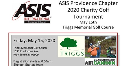 ASIS Annual Charity Golf Outing tickets