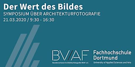 Der Wert des Bildes - Symposium über Architekturfotografie Tickets