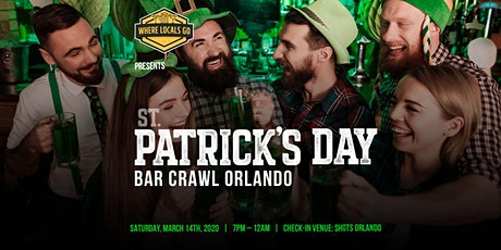 3rd Annual St. Patrick's Day Crawl Orlando tickets