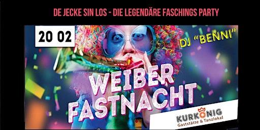 Weiberfastnacht 2020 - Die Party