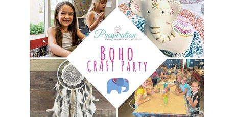 Boho Craft Party  (03-05-2020 starts at 6:00 PM) tickets