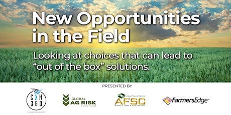 New opportunities in the field - Lunch & Learn tickets